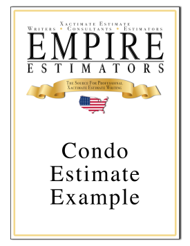 Example Condominium Repair Estimate